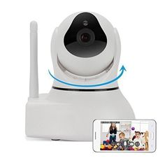 Amazon.com: IdeaNext Baby Monitor 1.3MP High Definition 720P Pan/Tilt Ip Surveillance Camera Wireless Network Monitor Supports Night Vision/Two-way Audio/Motion Detection/Door Sensor/SD Card DVR/Supports Remote Internet Viewing for iPhone, iPad, Android Smartphone or PC: Computers & Accessories