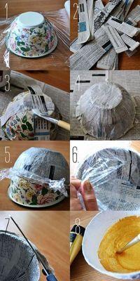 A través de la siguiente nota te enseñaremos a crear tus propios regalos y souvenir con papel maché. Manualidades ideales para regalos de cumpleaños, fiest