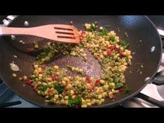 Garlic rice - YouTube