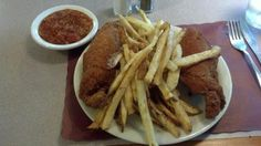 Belgrades Chicken   Barberton, Ohio  Yummy!