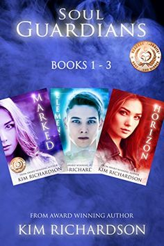 Amazon.com: Soul Guardians 3-Book Collection: Marked #1, Elemental #2, Horizon #3 eBook: Kim Richardson: Kindle Store