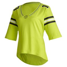 Zumba Team Spirit Jersey    Hit the Zumba Shop for the latest looks!!!   Get 10% OFF when you click here or use this code on www.zumba.com at checkout:  ZCODE10