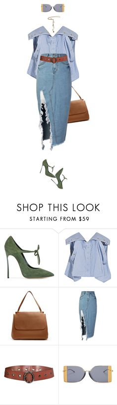 """""""volteeeeeei to enjoada de trabalhaaar!"""" by nandusho ❤ liked on Polyvore featuring Casadei, Y/Project, The Row, storets, Dorothee Schumacher, Calvin Klein 205W39NYC, Alexander McQueen, WorkWear, TheRow and yproject"""