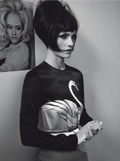para Vogue Italia, Marzo 2011