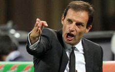 """ALLEGRI """"VINCERE LA CHAMPIONS ,"""" Vittoria importante, ma sofferta, tre punti fondamentali per il proseguo, che passano dalle parate di Buffon al gol di Cuadrado.  Partita difficile e impegnativa, che la Juve è riuscita a portare a"""