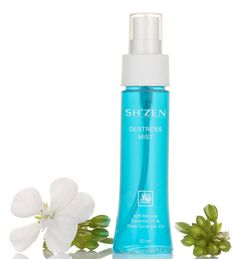 Just a spritz of this Sh'zen Destressing Mist helps you to relax, reduce stress and anxiety while reviving your spirits!