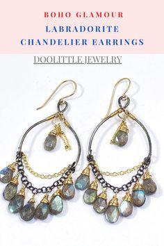 Dainty Earrings, Gemstone Earrings, Earrings Handmade, Dangle Earrings, Boho Jewelry, Jewelry Gifts, Fine Jewelry, Labradorite Jewelry, Holiday Jewelry