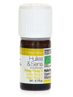 huile essentielle ylang ylang II (bio) de chez Huiles & Sens Aromatherapie (http://www.huiles-et-sens.com/huile-essentielle-ylang-ylang-II-bio/)