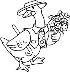 Risco 1 - Ale Turonis - Álbumes web de Picasa Family Coloring Pages, Bird Coloring Pages, Coloring Pages For Kids, Coloring Books, Kids Story Books, Book Of Shadows, Simple Art, Book Illustration, Baby Quilts