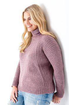 Lana Grossa PULLI MIT ZOPF-RIPPENMUSTER Cashmere 16 Fine - FILATI Size Plus…