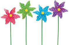 Polka dot pinwheels! omg!! sum of these!
