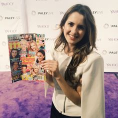 We have to admit, Laura Marano is definitely one of our favorites to hang with on the purple carpet! <3
