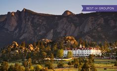 The Stanley Hotel may be best known for its role in Stephen King's classic horror novel The Shining, which was inspired by King's first visit to the historic estate next to Rocky Mountain National Park. Stay for two with dining credit. Dates into May - from $129/night. (Time Sensitive Special Offer)  www.teelieturner.com www.teeliestraveltips.com