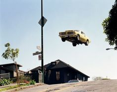 Flying Muscle Car Photography by Matthew Porter Pictures) Trampolines, Automotive Photography, Car Photography, Muscle Cars, Cars Series, Flying Car, Street Racing, Contemporary Photographers, Vintage Cars