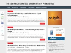 Responsive Article Submission Networks