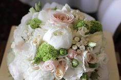 DIW Real Wedding Bouquet of one of our brides