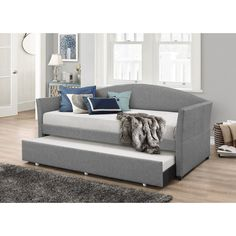 Brayden Studio Eleni Daybed with Trundle