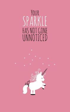 Your Sparkle Has Not Gone Unnoticed!