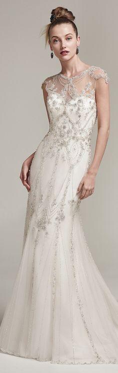 Wedding Dress by Sottero and Midgley 2016 Fall/Winter Collection   #sotteroandmidgley #midgleybride