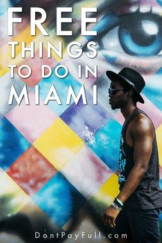 30 Fun and Free Things to Do in Miami That Will Please Everybody - Finance tips, saving money, budgeting planner Cheap Things To Do, Free Things To Do, Stuff To Do, Ways To Save Money, Money Saving Tips, How To Make Money, Saving Ideas, Money Tips, Diy Décoration