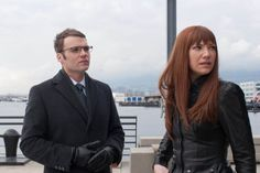 Still of Seth Gabel and Anna Torv in Fringe (2008)