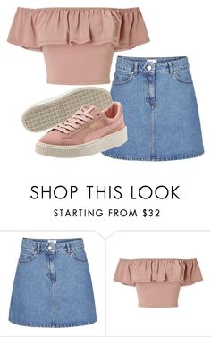 """""""dirty pink look"""" by irsanjanina ❤ liked on Polyvore featuring Miss Selfridge"""