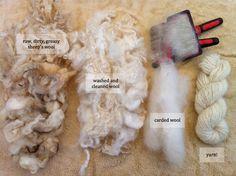 Processing Raw Fleece | Crafty Katie