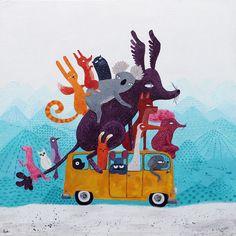 """Roadtripping"" by Luka Va."