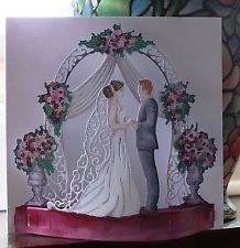 Tattered Lace Die Cuts WEDDING charisma HORSE /& CARRIAGE BRIDE GROOM CHURCH