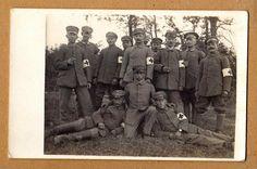 Foto I.Weltkrieg Soldat feldgrau Sanitäter schöne Ansicht