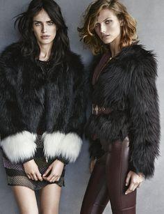 Karlina Caune, Amanda Wellsh by Giampaolo Sgura for H & M  Sep 2014