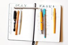 Use your fountain pens and notebooks to keep yourself organized in a Bullet Journal!