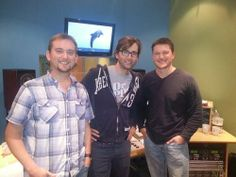 David Tennant with JDP producers for the new 'Spy' on dolphins. x