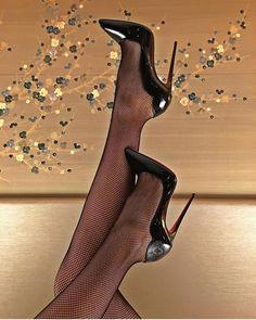 """Weekend shoes @magicsingh #TeamLouboutin"" #stilettoheelsstockings #stilettoheelsboots #stilettoheelsdress"