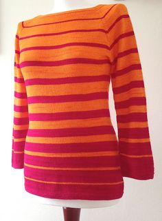Ravelry: Nothing but Stripes! pattern by MTD, in test knit stage, pattern avail Aug '13
