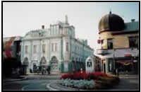 Michalovce Town Centre