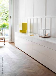 Rand Cabinets with doors by Asplund