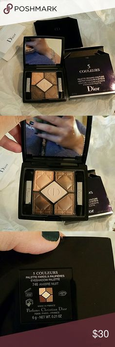 Dior eyeshadow palette Brand new with original box and bag. Dior Makeup Eyeshadow