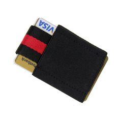Men/'s Ultra Slim Wallet Credit Card Holder Front Pocket Security Black Faux Lot