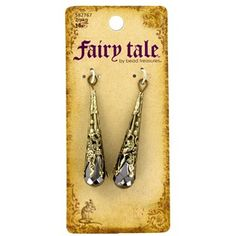 Fairy Tale by Bead Treasures Antique Brass Filigree Cone Drops | Shop Hobby Lobby
