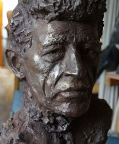 buste-dalberto-giacometti- bronze- sculpteur Gérard Lartigue Lartigue, Bronze, Sculpture, Statue, Art, Sculpting, Sculptures