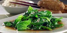 Špinat na kineski način / Spinach Chinese Way