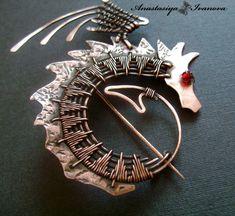 Ювелирное искусство и Wire Wrap  This artist does beautiful work!