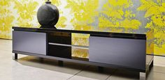 A great TV Cabinet for everyday use, in a black gloss which work well with most flat screen LCD, LED or Plasma TV colours.