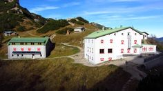 Das Stripsenjochhaus im Kaisergebirge / Tirol