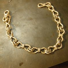 Tutorial to make wire chain