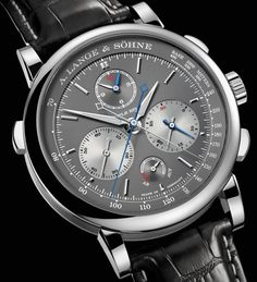 A. Lange and Söhne Triple Split Watch