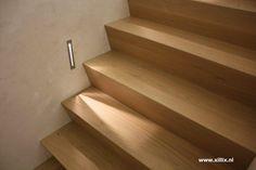Xillix roestvrijstaal - Houten trappen