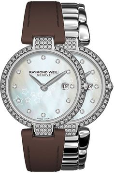 Raymond Weil Watch Shine Ladies Watch available to buy online from with free UK delivery. Modern Watches, Luxury Watches, Rolex Watches, Raymond Weil, Rose Gold Watches, Ice Queen, Mechanical Watch, Diamond Are A Girls Best Friend, Automatic Watch