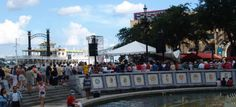 Spanish Plaza, located next to #RiverwalkNOLA, is a popular meeting place for visitors. It also plays host to many events throughout the year!
